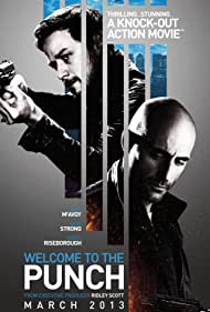 James McAvoy and Mark Strong in Welcome to the Punch (2013)