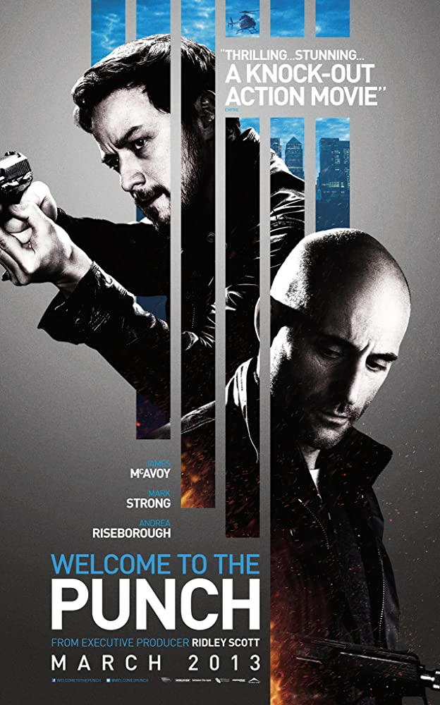 Poster film Welcome to the Punch.