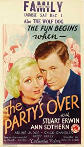 Watch full movie hd The Party's Over [Bluray]