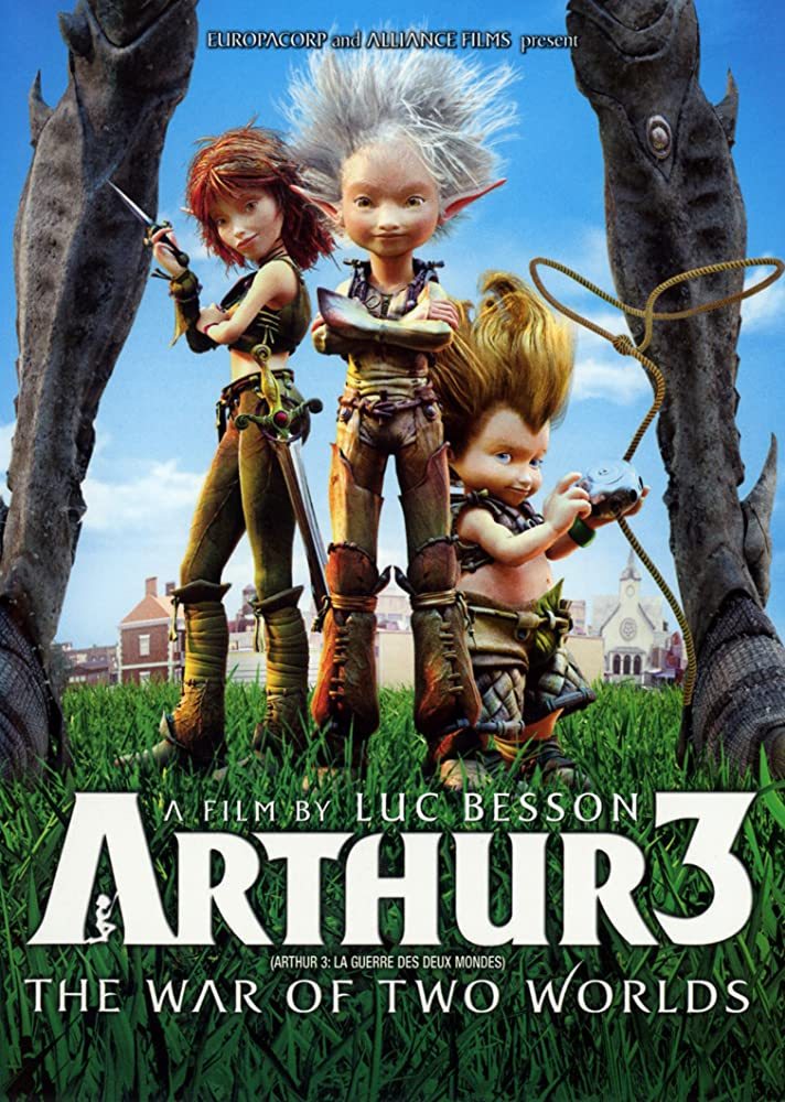 Arthur 3 – The War of the Two Worlds (2010) Hindi Dual Audio 480p BluRay x264 ESubs 350MB