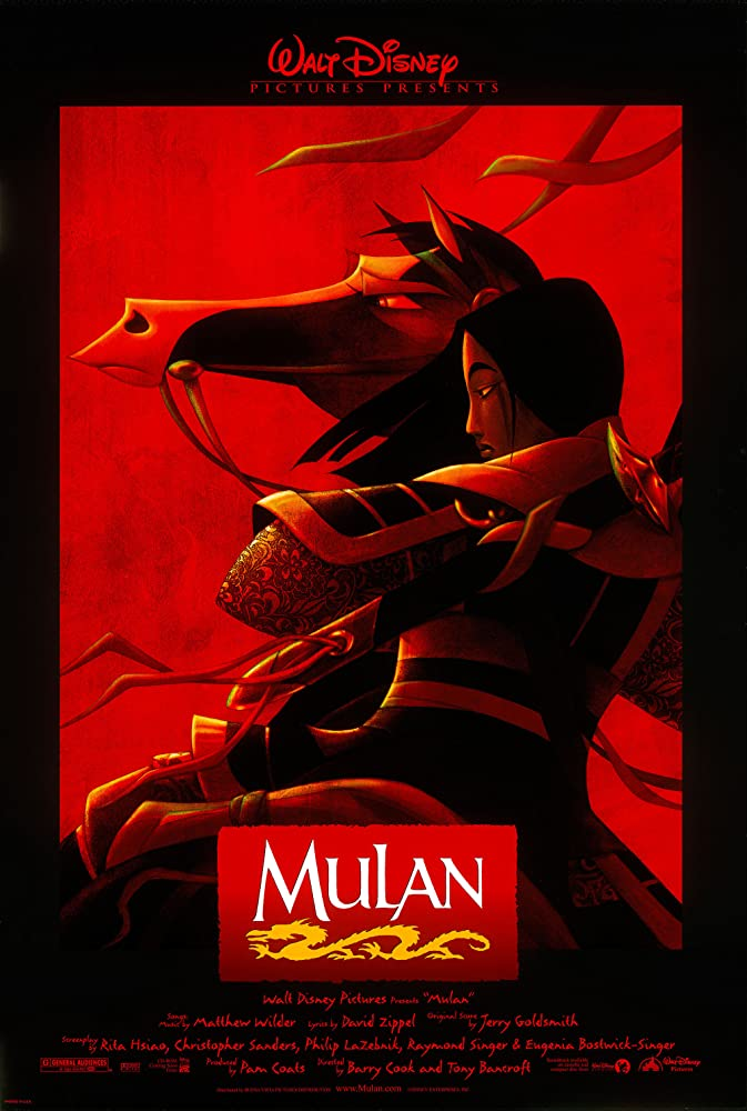 Mulan (1998) Dual Áudio | Dublado DVD-R Oficial Uptobox Download (Pedido)