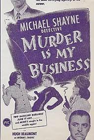 Carol Andrews, Hugh Beaumont, Lyle Talbot, and Cheryl Walker in Murder Is My Business (1946)