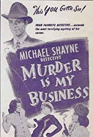 Murder Is My Business Poster