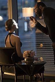 Evan Rachel Wood and Jeffrey Wright in Westworld (2016)