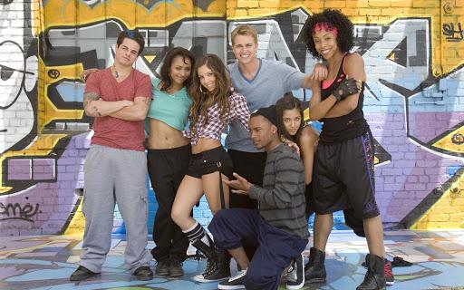 Kat Graham, Brittany Perry-Russell, Randy Wayne, Melissa Molinaro, Seychelle Gabriel, Tyler Nelson, and Casper Smart in Honey 2 (2011)