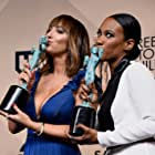 Vicky Jeudy and Jackie Cruz at an event for 22nd Annual Screen Actors Guild Awards (2016)