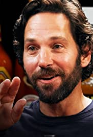 Paul Rudd Does a Historic Dab While Eating Spicy Wings Poster