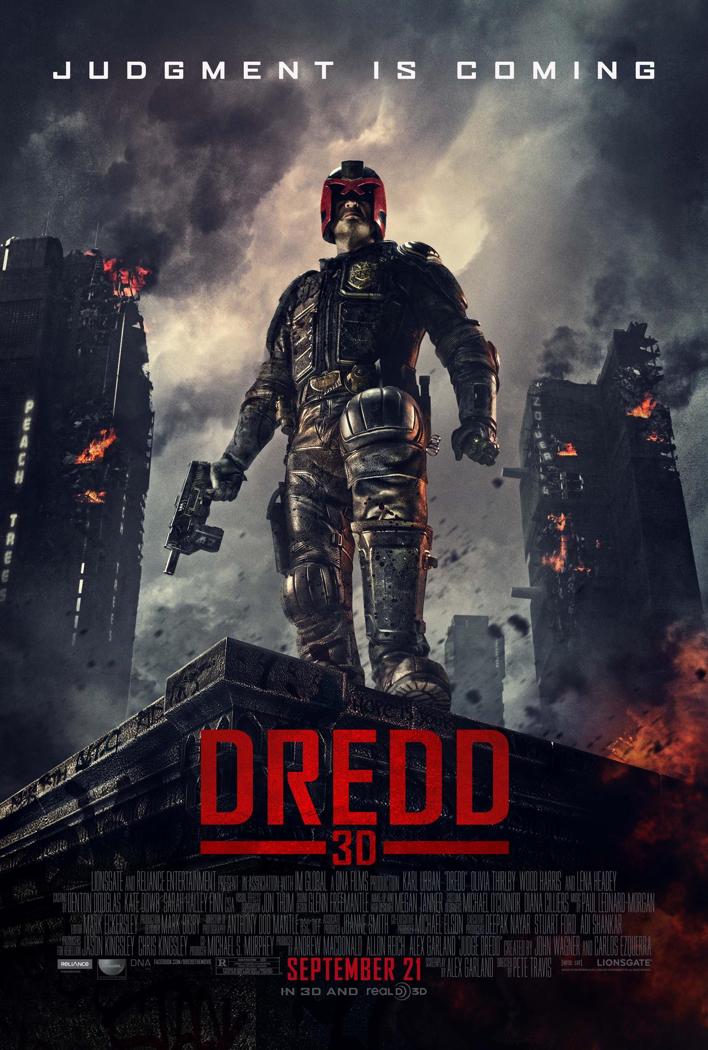 Dredd (2012) BR-Rip – x264 – [Telugu (Original Audio) + Hindi + English] – 400MB – ESub