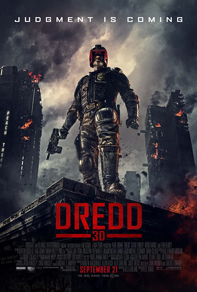 Karl Urban in Dredd (2012)