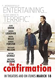 Clive Owen and Jaeden Martell in The Confirmation (2016)