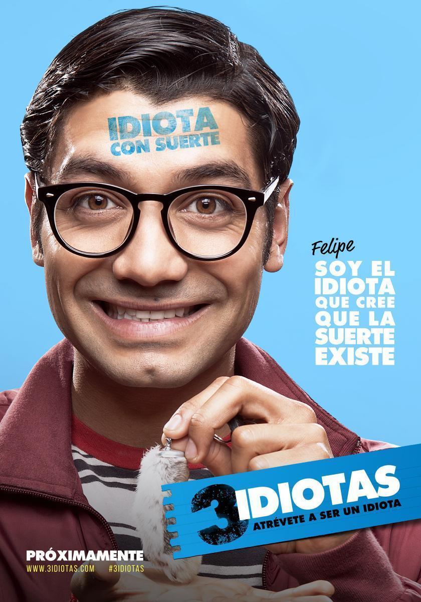 Christian Vazquez in 3 idiotas (2017)