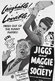 Jiggs and Maggie in Society Poster