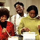 Erika Alexander, Kim Fields, and Terrence 'T.C.' Carson in Living Single (1993)