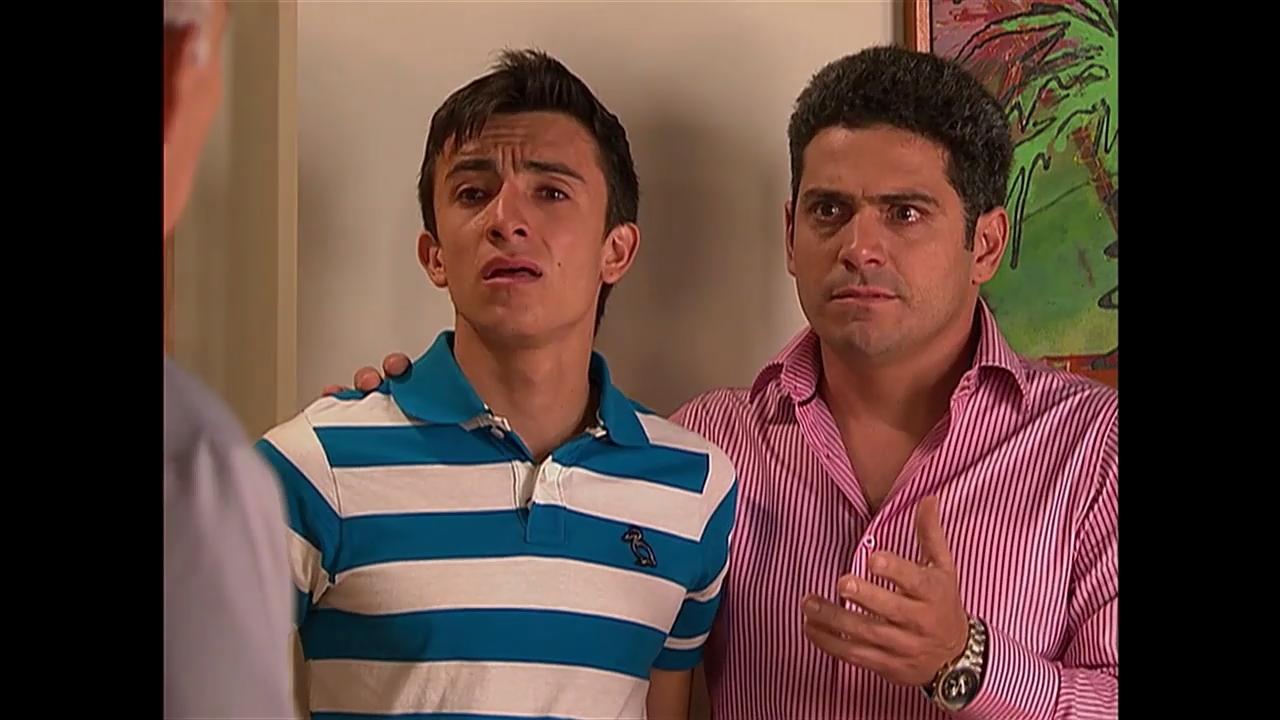 Mijail Mulkay and Francisco Bolívar in Victorinos (2009)
