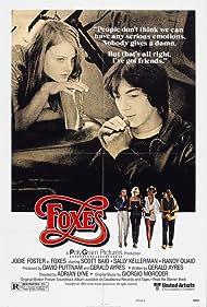 Jodie Foster and Scott Baio in Foxes (1980)