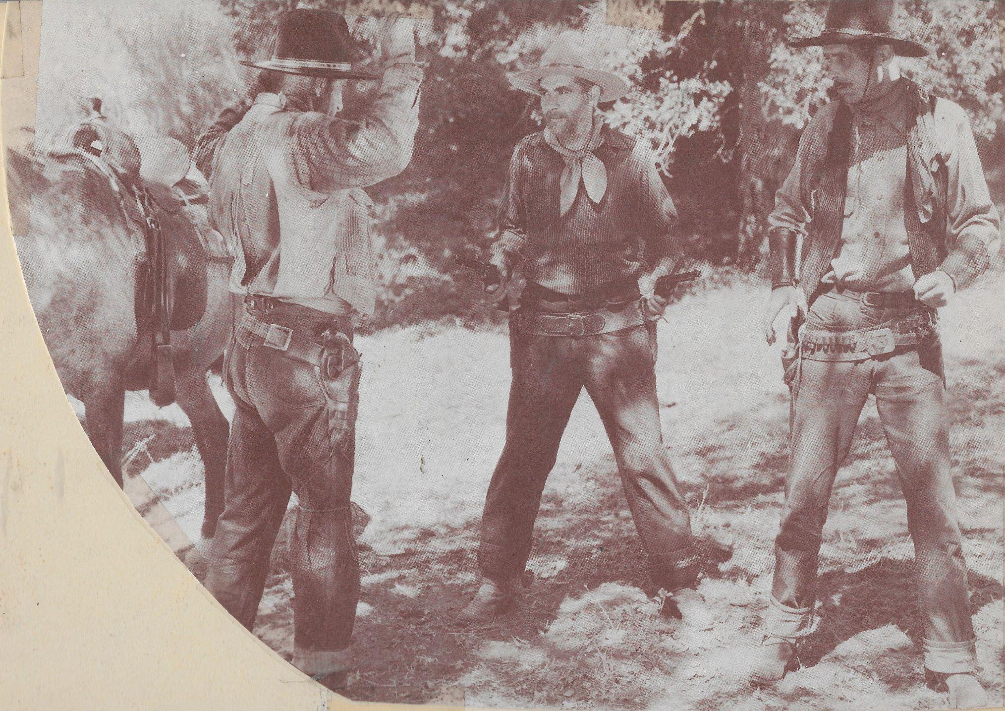 Ed Brady, George 'Gabby' Hayes, and Merrill McCormick in The Nevada Buckaroo (1931)