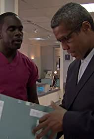 Hugh Quarshie and Jimmy Akingbola in Holby City (1999)