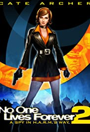 No One Lives Forever 2: A Spy in H.A.R.M.'s Way Poster