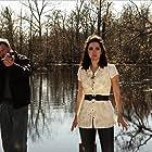 Elena Lyons and Lochlyn Munro in Alligator X (2014)