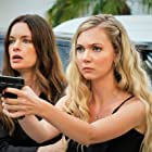 Gina Holden and Heavenly Reyna in Fame at a Deadly Cost (2020)