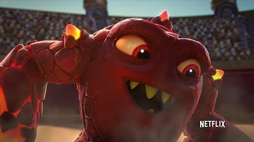 Skylanders Academy: Eruptor Is On Fire, Literally