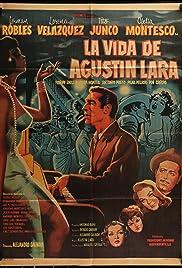 La vida de Agustín Lara Poster