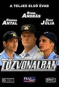 Antal Cserna, András Stohl, and Júlia Zeck in Tüzvonalban (2007)