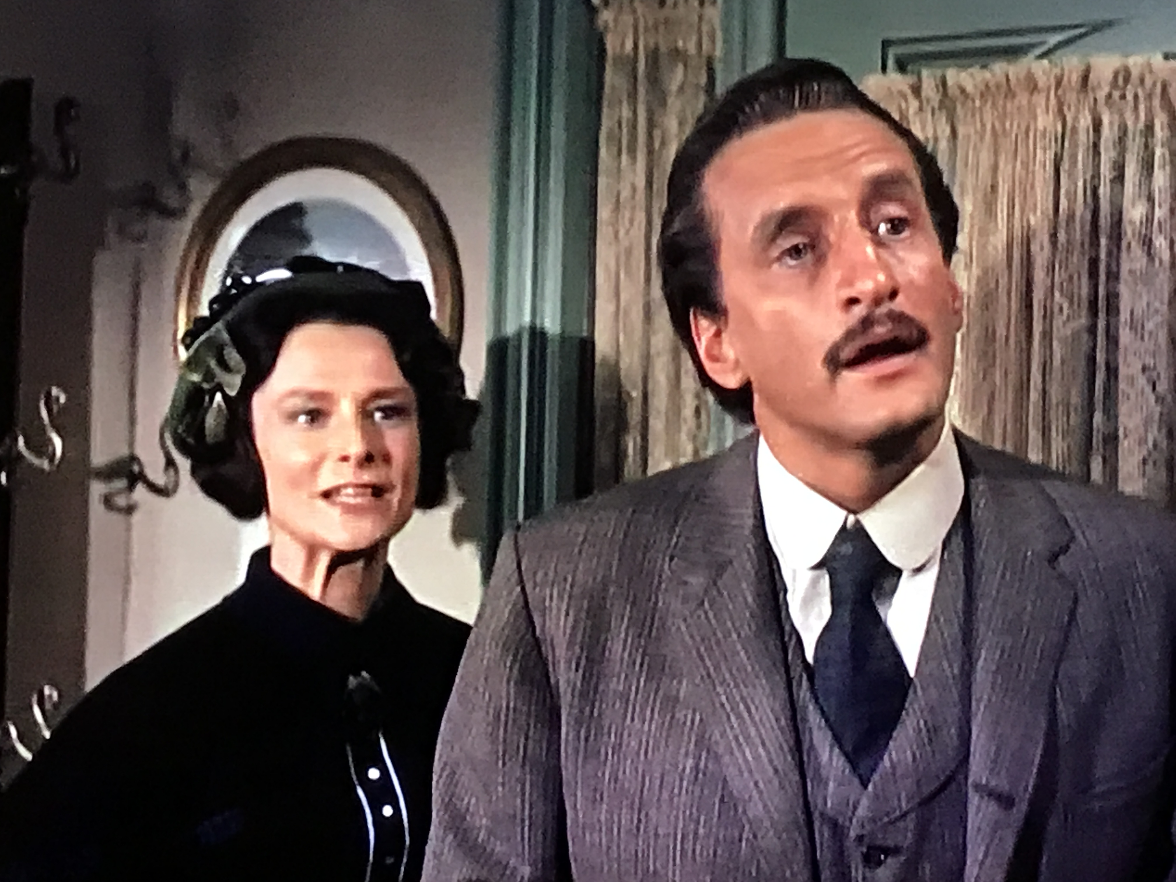 George C. Scott and Anne Meacham in The Virginian (1962)