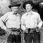 Eulalio González and Pedro Infante in El enamorado (1952)