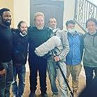 Michael Jai White, Asif Akbar, and Gianni Capaldi in The Commando (2022)