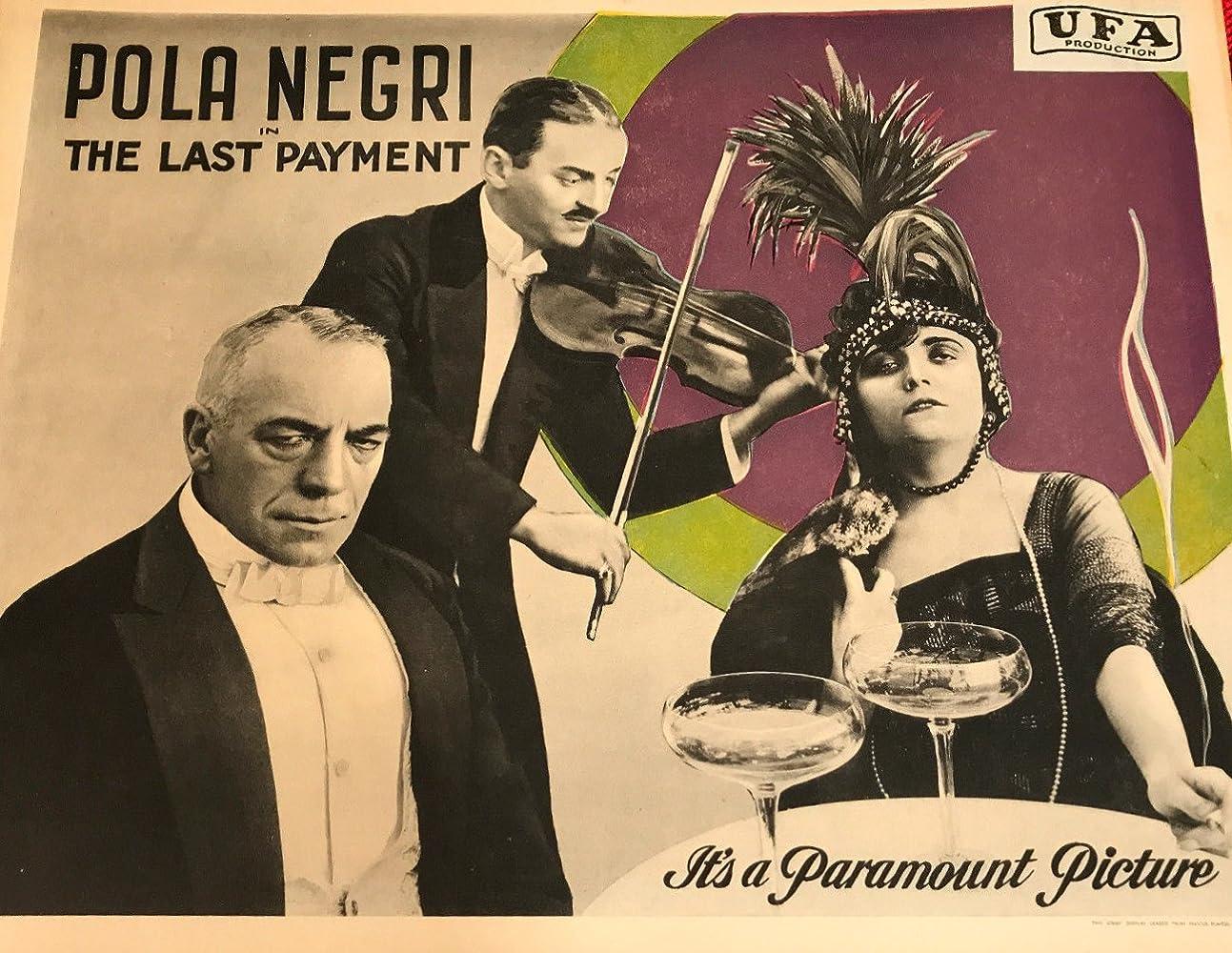 Pola Negri in Das Karussell des Lebens (1919)