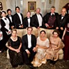 Ana Packard, Autumn Allen, Aurora Grabill, Terry Traynor, Dan Dovidio, Ken Neenan, Kate Eppers, Ted Sterner, Pierre Rumpf, Margaret Traynor, René Zara, and Reuben Traynor in The Dinner Party
