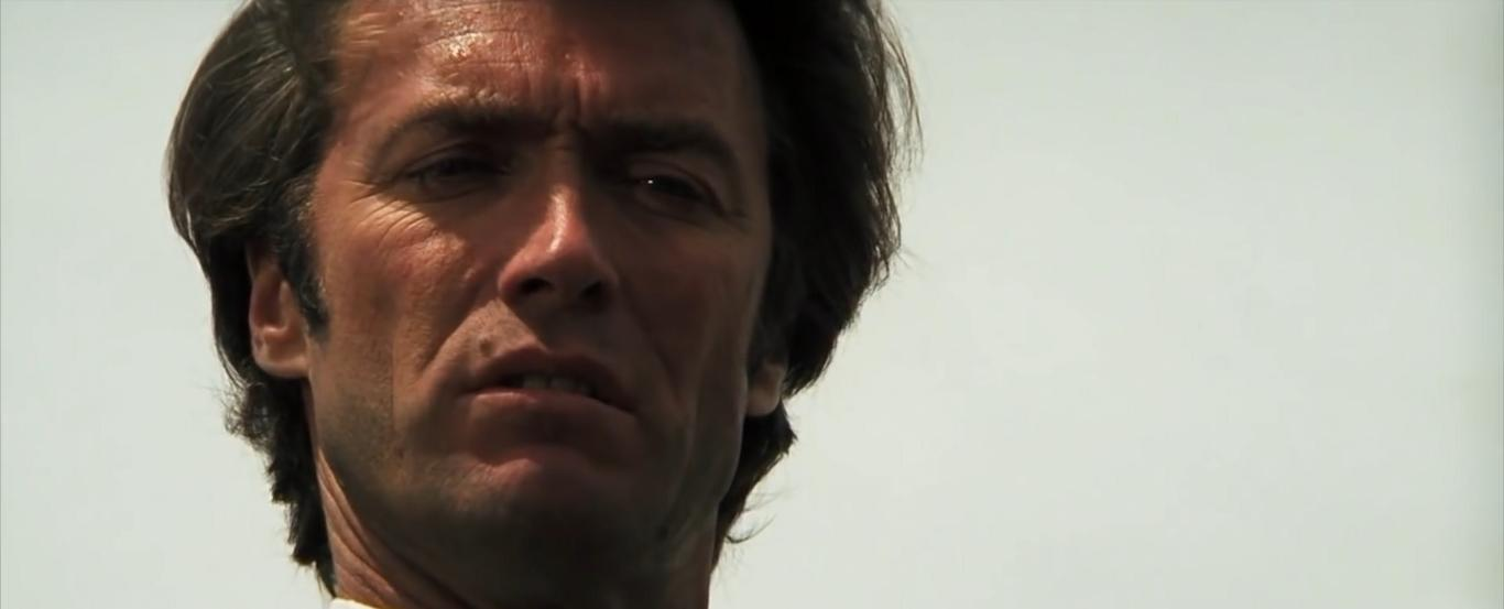 Clint Eastwood in Dirty Harry 1971