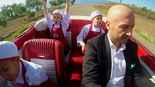 Masterchef Junior: The Kids Arrive In Style