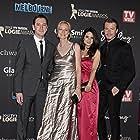 Crownies cast members Hamish Michael, Marta Dusseldorp, Todd Lasance and Andrea Demetriades at the 2012 TV Week Logie Awards.