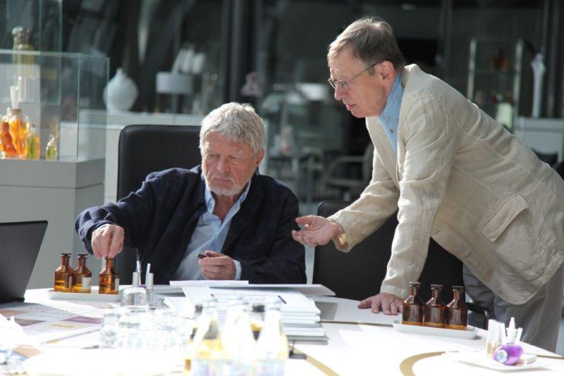 Hark Bohm and Hardy Krüger in Familiengeheimnisse - Liebe, Schuld und Tod (2011)