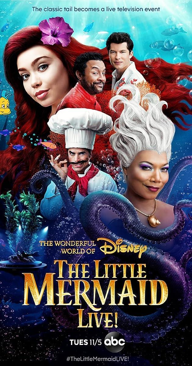little mermaid cast 2020