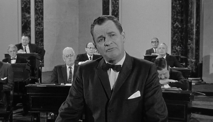 James Gregory in The Manchurian Candidate (1962)