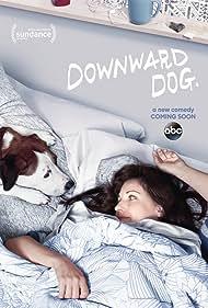 Allison Tolman, Samm Hodges, and Ned the Dog in Downward Dog (2017)