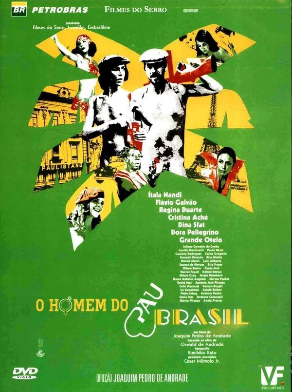 O Homem do Pau-Brasil [Nac] – IMDB 6.2