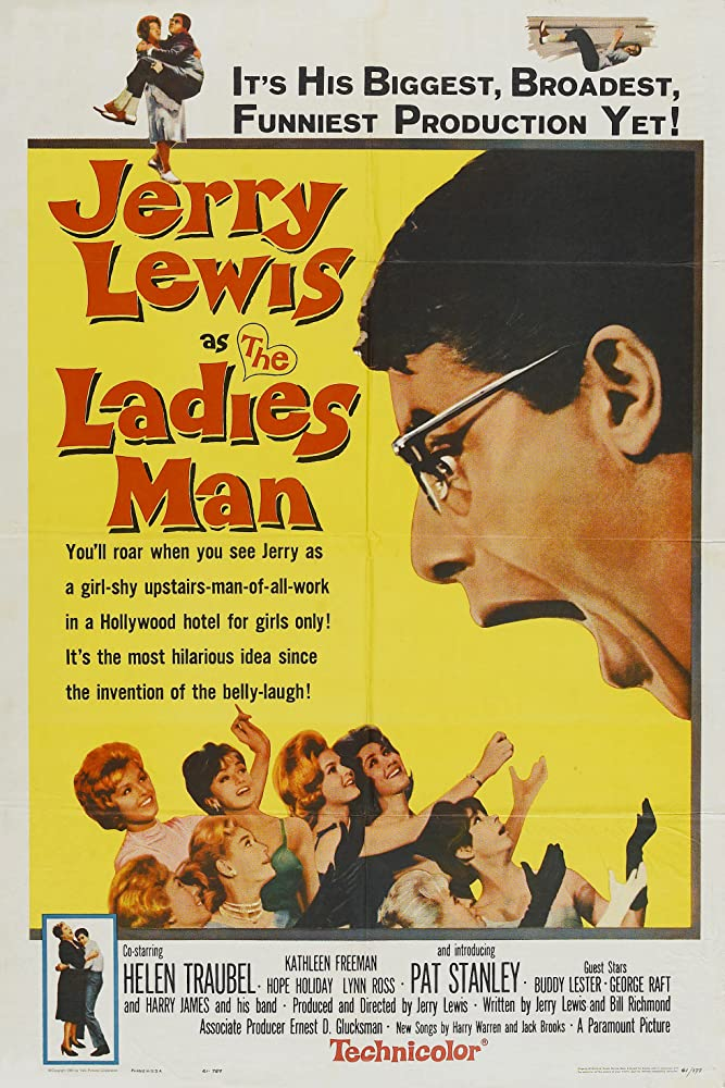 Jerry Lewis and Pat Stanley in The Ladies Man (1961)
