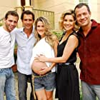 Flávia Alessandra, Henri Castelli, Ingrid Guimarães, Marcos Pasquim, and Malvino Salvador in Caras & Bocas (2009)
