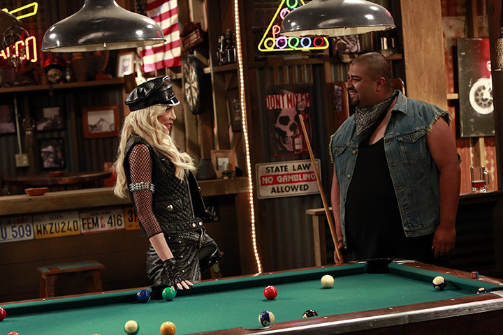 "Tori Spelling and David Fernandez Jr. In ""Mystery Girls"" on ABC Family"