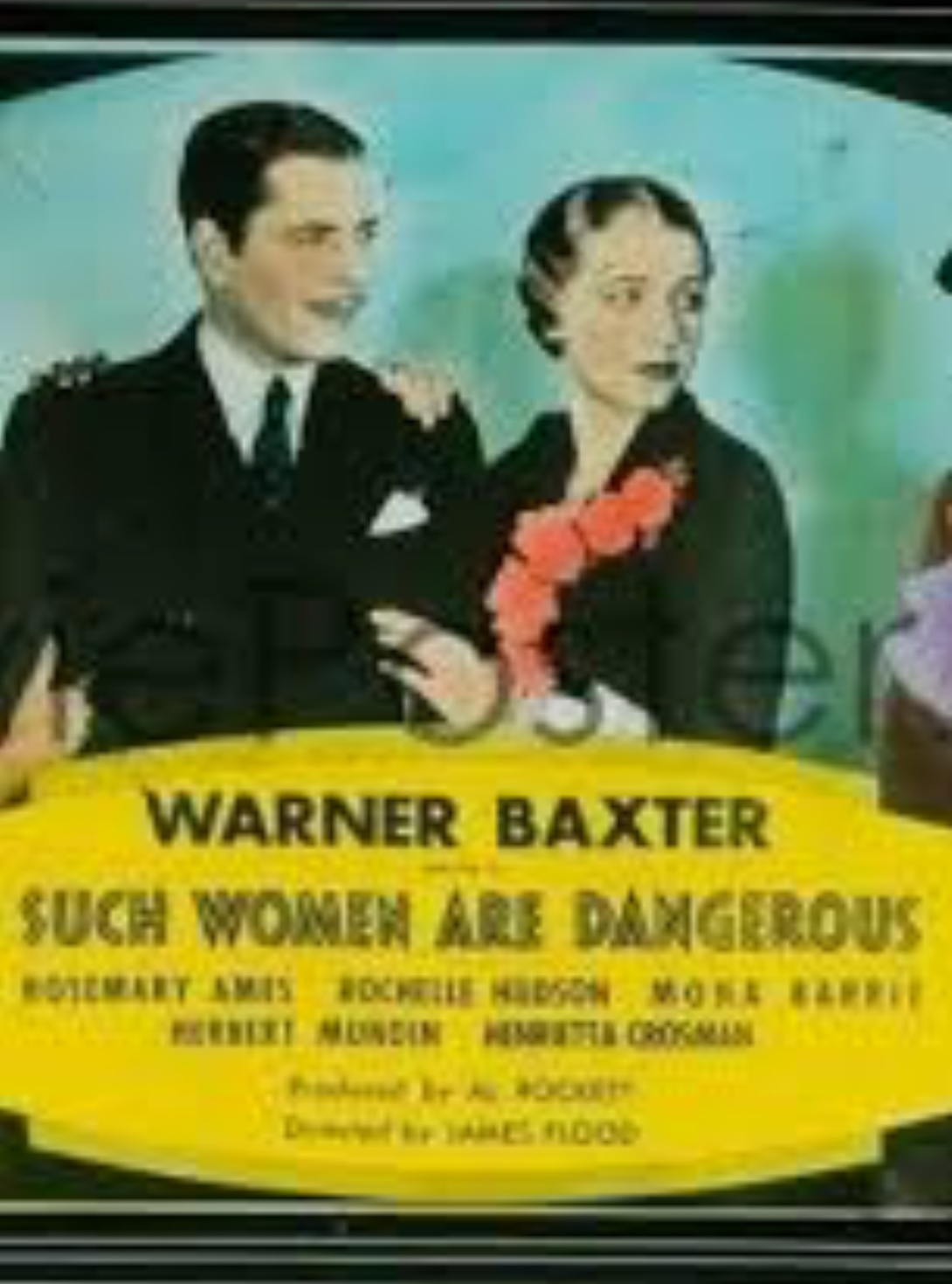 Warner Baxter and Rochelle Hudson in Such Women Are Dangerous (1934)