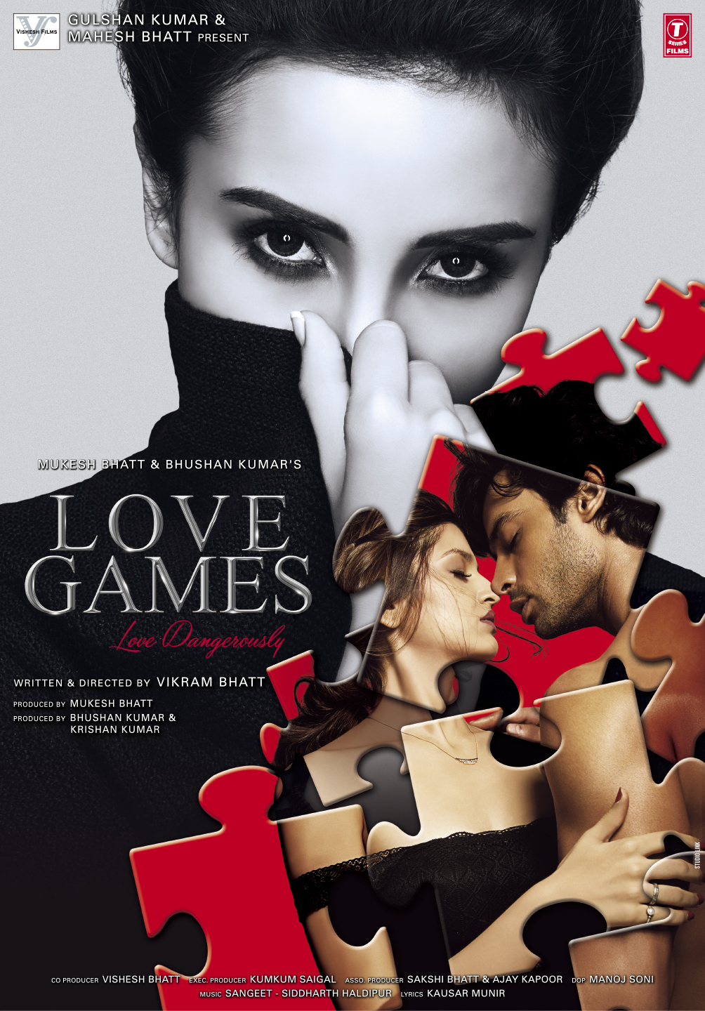 Image result for Love Games - Love Dangerously (2016) movie poster