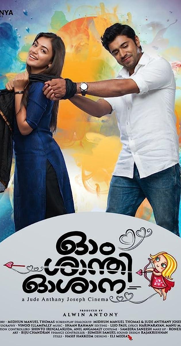 Ohm Shanthi Oshaana (2014) Malayalam DVDRip 800MB