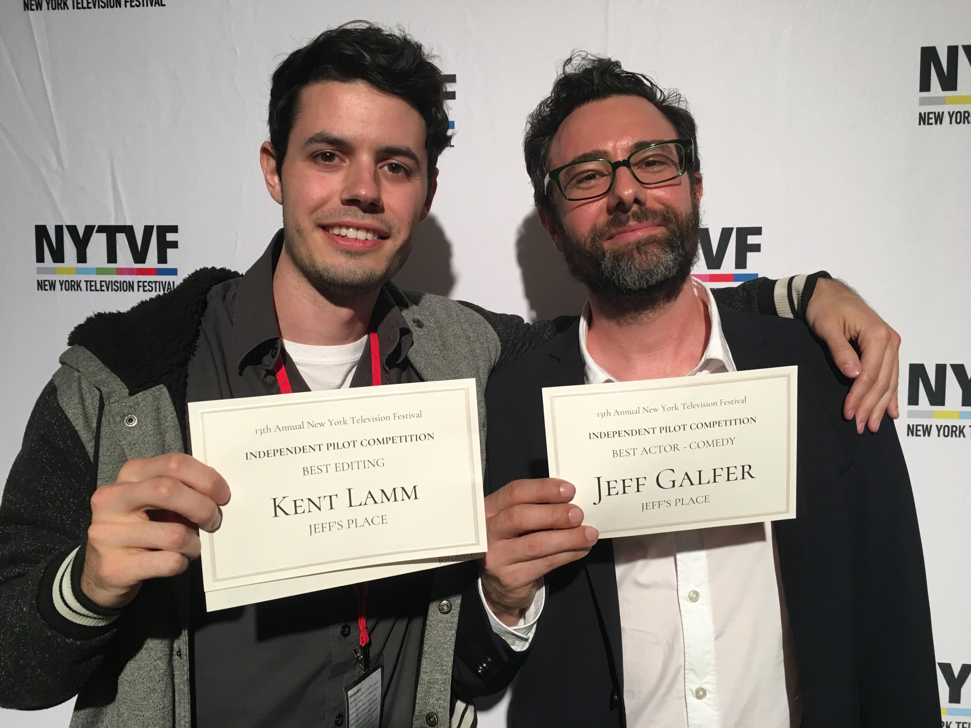 Jeff Galfer and Kent Lamm