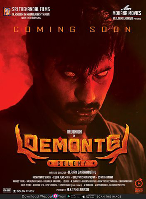 Demonte Colony 2018 Hindi Official Trailer 720p HD Download