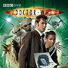 David Tennant and Freema Agyeman in Doctor Who (2005)