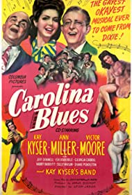 Kay Kyser, Ann Miller, and Victor Moore in Carolina Blues (1944)